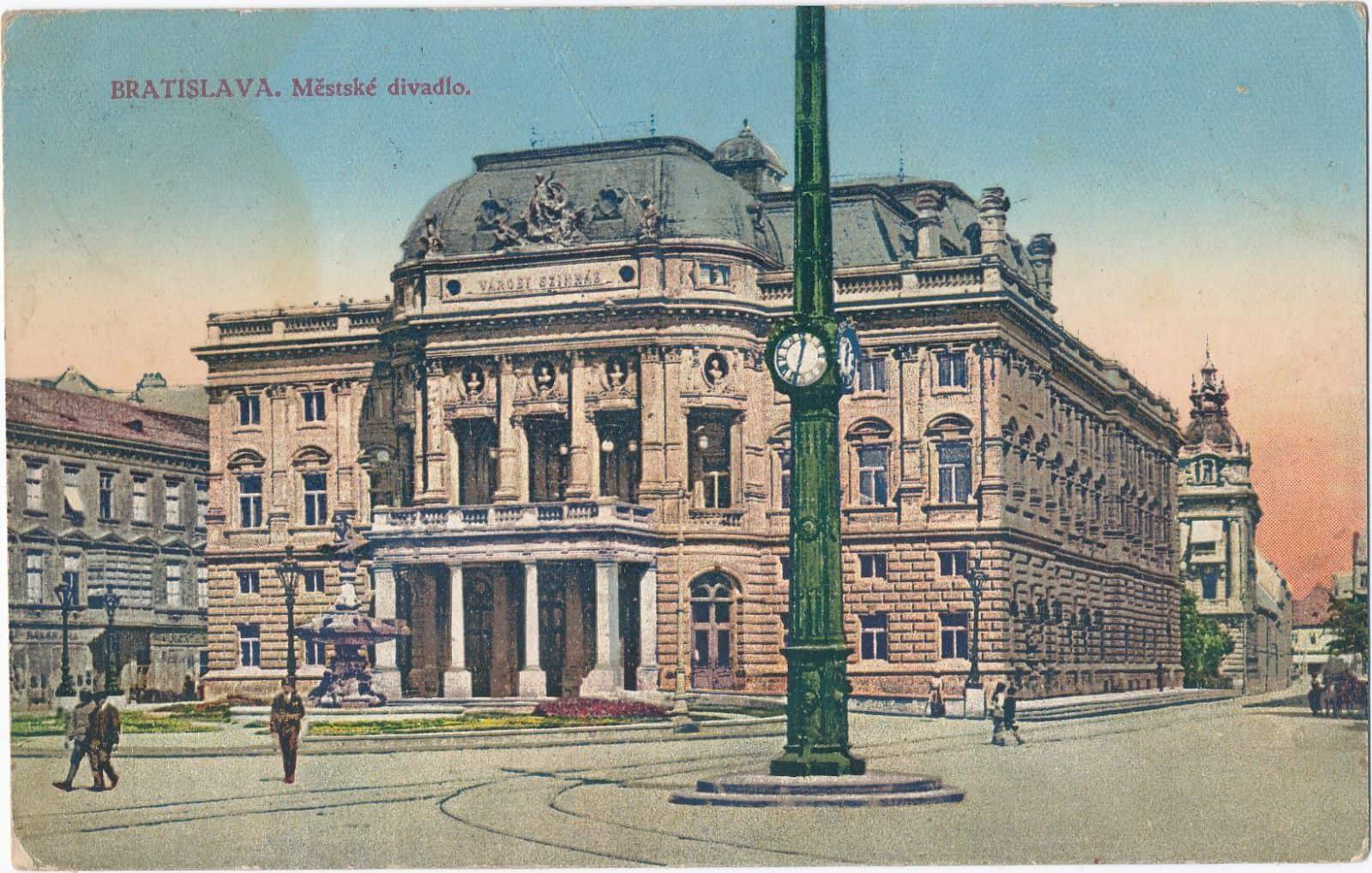 Autor: 1926, Bratislava historické fotografie / Kronika Slovenskej republiky