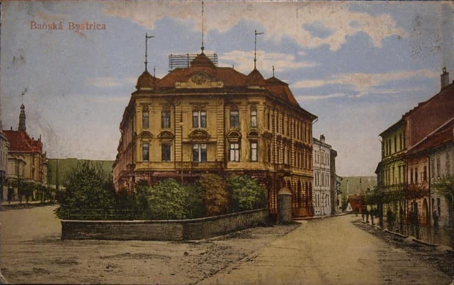 Autor: Banská Bystrica historické fotografie / Kronika Slovenskej republiky