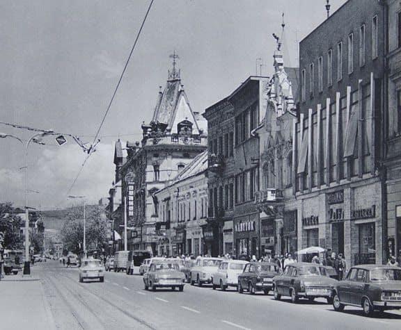 Autor: Hlavna_ulica Košice historické fotografie / Kronika Slovenskej republiky