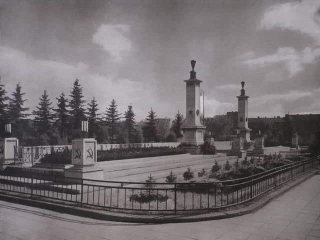 Autor: Pamatnik_Cervenej_armady Košice historické fotografie / Kronika Slovenskej republiky
