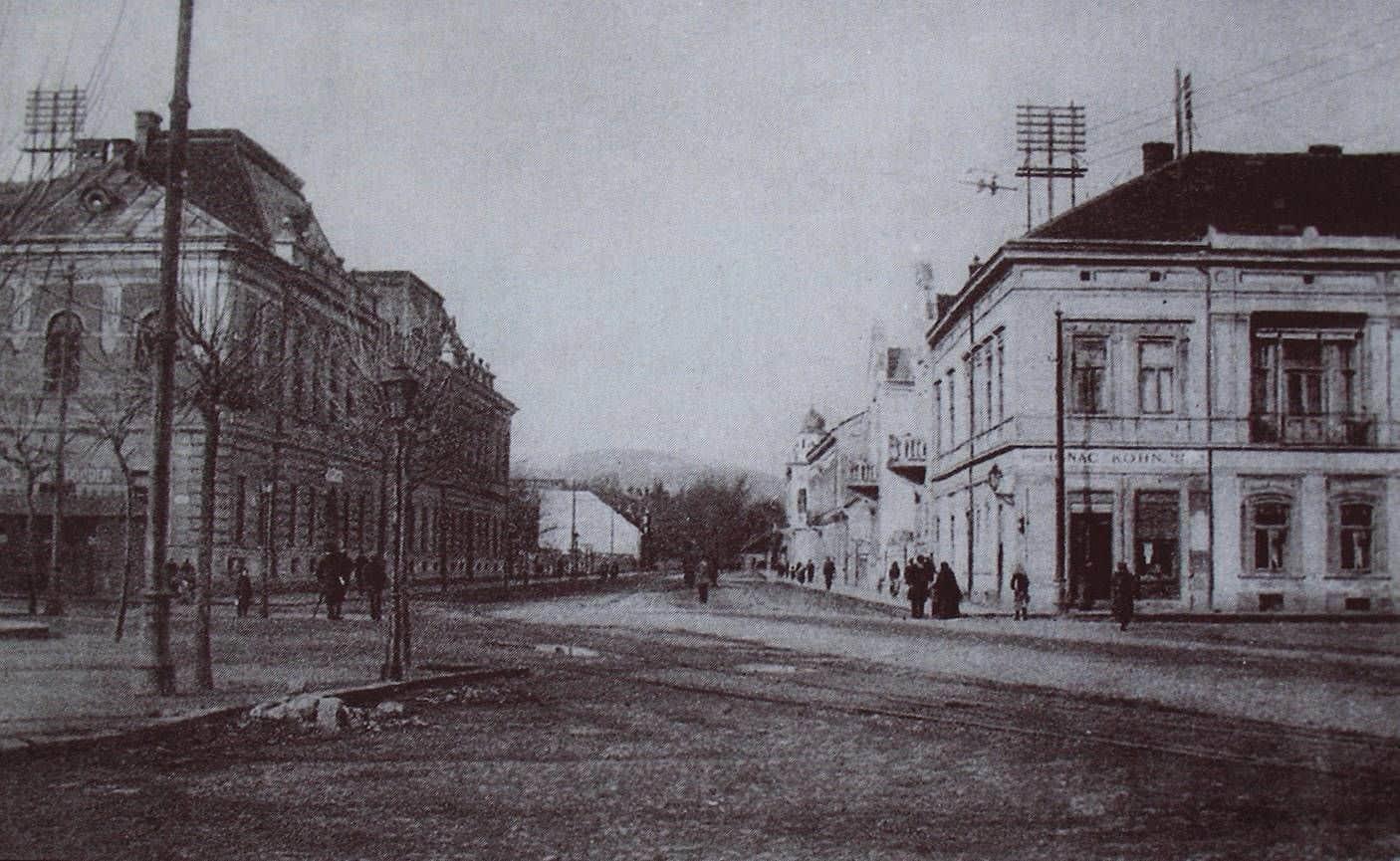 Autor: Dnes_komenskeho_ulica Košice historické fotografie / Kronika Slovenskej republiky