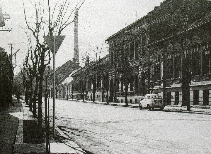 Autor: Ul. Floriánska Košice historické fotografie / Kronika Slovenskej republiky