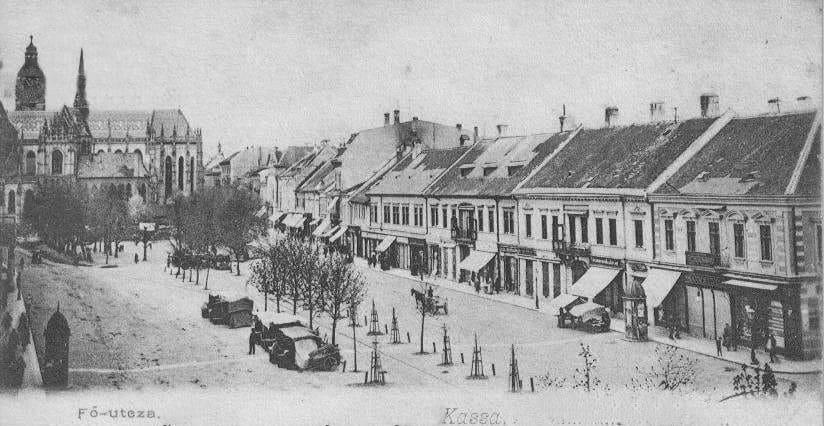 Autor: hlavna_ulica_3 Košice historické fotografie / Kronika Slovenskej republiky