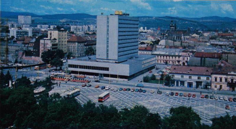 Autor: Námestie Košice historické fotografie / Kronika Slovenskej republiky